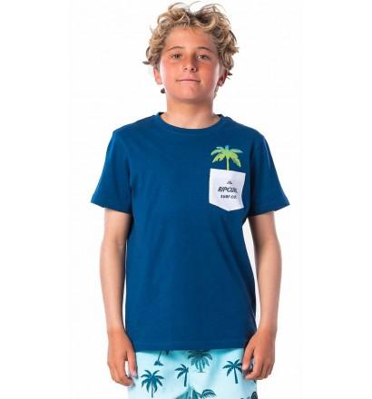 T-Shirt Rip Curl Fashion Pocket