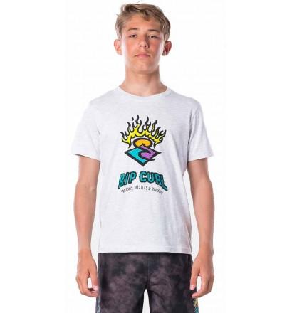Camiseta Rip Curl Surf Stickers