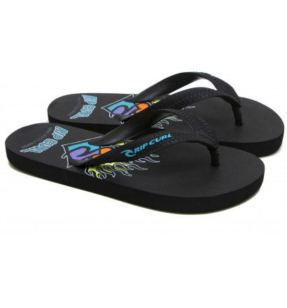 Rip Curl Aloha Black flip flops