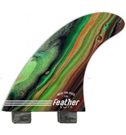 Surfboard Fins Feather Fins Performance Twin