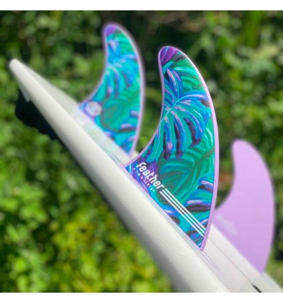 Quilhas surf Feather Fins Maud Le Car