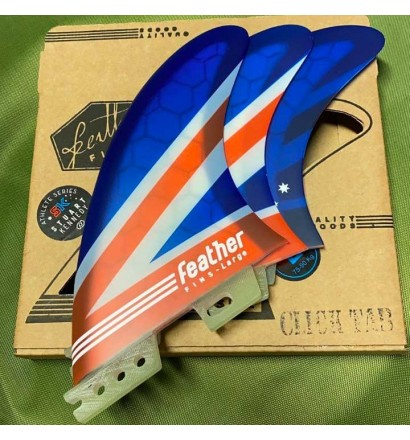 Quilhas surf Feather Fins Stuart Kennedy Click Tab