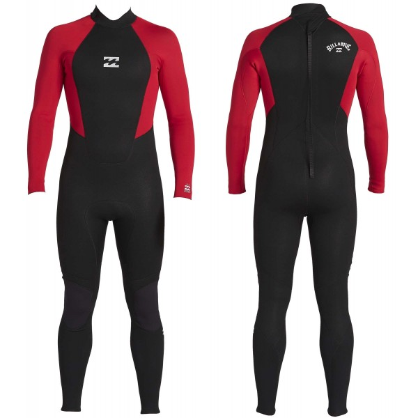 Imagén: Fato Surf Billabong Intruder Junior 4/3mm flatlock