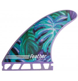 Quilhas surf Feather Fins Maud Le Car Single Tab