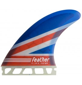 Quilhas surf Feather Fins Stuart Kennedy Single Tab