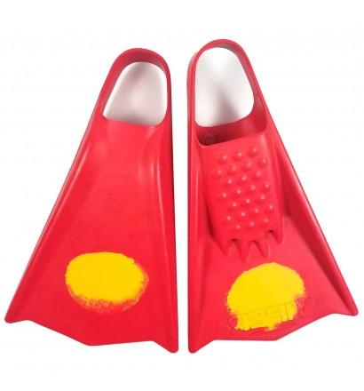 Aletas de bodyboard MS Viper Rojo