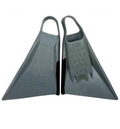 Flossen Bodyboard Viper Delta 2.0 Grau/Schwarz