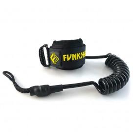 Leash de bodyboard Funkshen Single Swivel Wrist