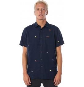 Rip Curl SWC Motif Linen Shirt