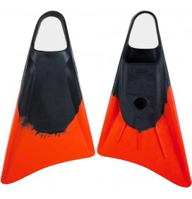 Stealth S1 Bodyboard Fins Black/Orange