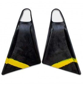 Aletas de bodyboard Stealth S2 Pinnacle Black/Volt