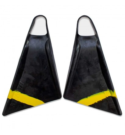 Stealth S2 Pinnacle Bodyboard Fins Black/Volt