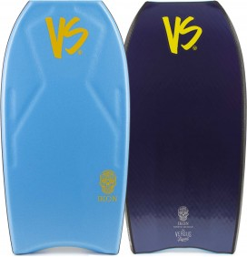 Prancha de bodyboard VS Ikon Kinetic PP Contour Quad Concave