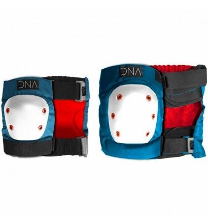 Set de protecciones codos + rodillas DNA Original