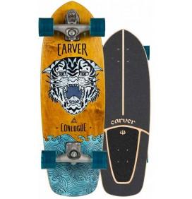 Tabla de surfskate Carver Conlogue Sea tiger 29,5'' C7