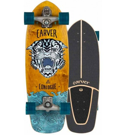 Tabla de surfskate Carver Conlogue Sea tiger 29,5'' C7