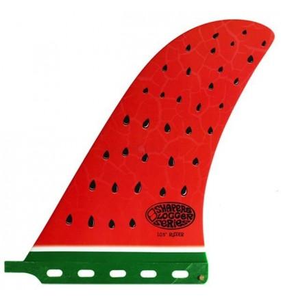 Quilla longboard Shapers Rudder Watermelon