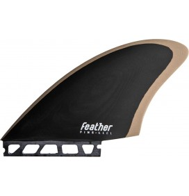 Ailerons de surf Feather Fins Keel Single Tab