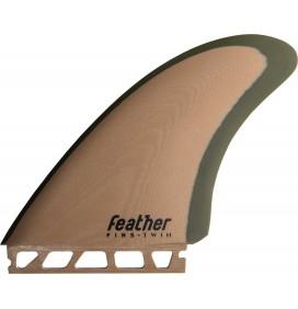 Ailerons de surf Feather Fins Modern Keel Single Tab