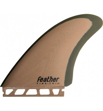 Quilhas de surf Feather Fins Modern Keel Single Tab