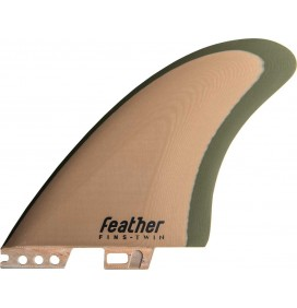 Quillas de surf Feather Fins Modern Keel Click Tab