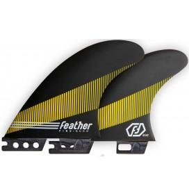 Ailerons de surf Feather Fins Quad Click Tab