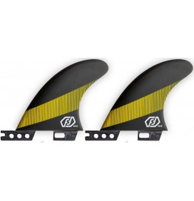 Quilhas surf traseiras para Quad Feather Fins