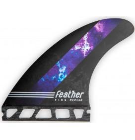 Dérive surf Feather Fins William Cardoso HC Thunder Single Tab