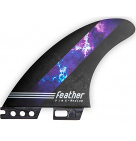 Quilhas surf Feather Fins William Cardoso HC Thunder Click Tab