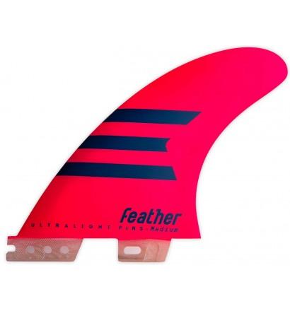 Finnen surf-Feather Ultralight Epoxy HC Click-Tab