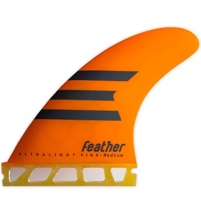Quilhas surf Feather Ultralight Epoxy HC Single Tab