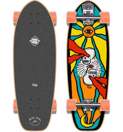 Tabla de surfskate Yow Handsforfeet 29''