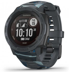 Tij klok Garmin Instinct Solar Edition Surf Cloudbreak