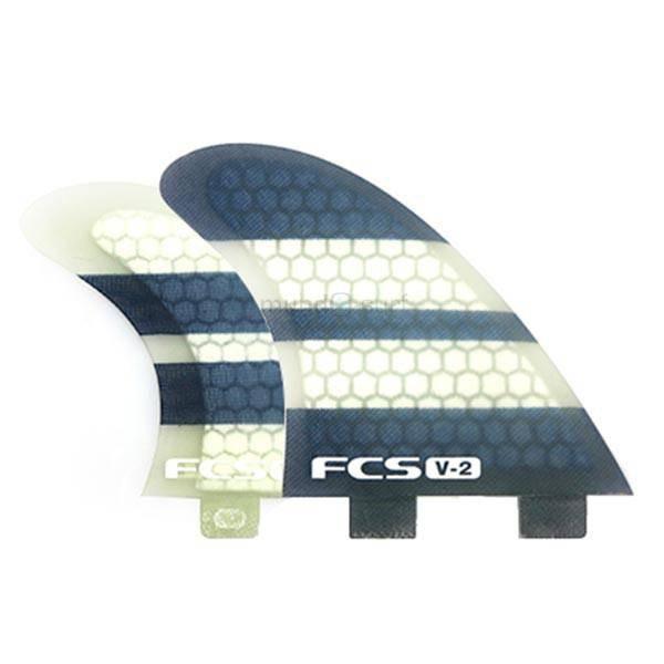 Imagén: Quillas FCS V2 Tri-Quad