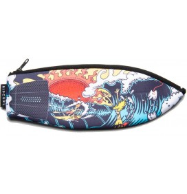 Case Rip Curl surfboard pencil