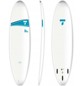 7'3'' Tahe Mini Malibu Surfboard