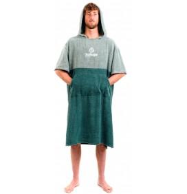 Poncho asciugamano Surf Logic Green & Olive