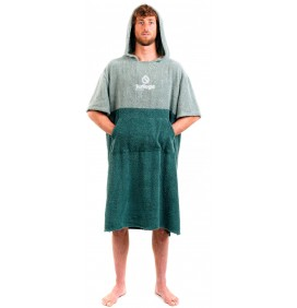 Poncho toalla Surf Logic Green & Olive