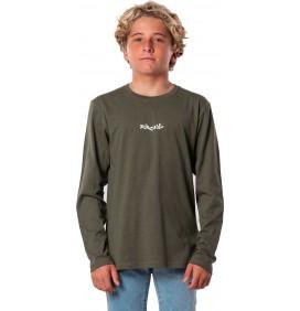 T-shirt Rip Curl Blazed & Tubed lange mouwen