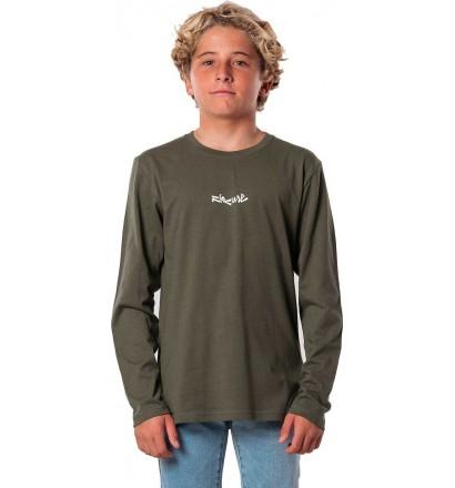 Camiseta Rip Curl Blazed & Tubed mangas largas