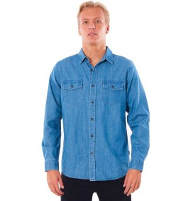 Camisa Rip Curl Searchers Denim