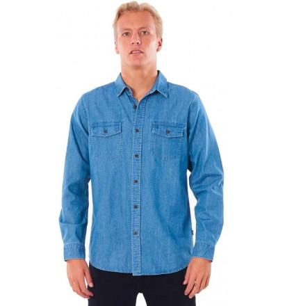Camisa Rip Curl Searchers Denim