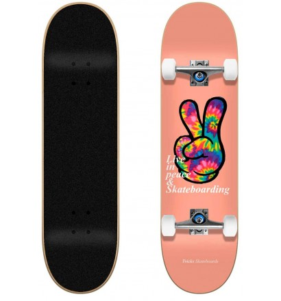 Skateboard completo Tricks Peace 7.75″