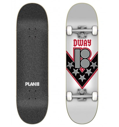 Skateboard Plan B Danny Way One Offs 8.125″ Complete