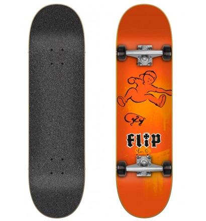 Skateboard Flip HKD Fast Times Red 7.87″ complete