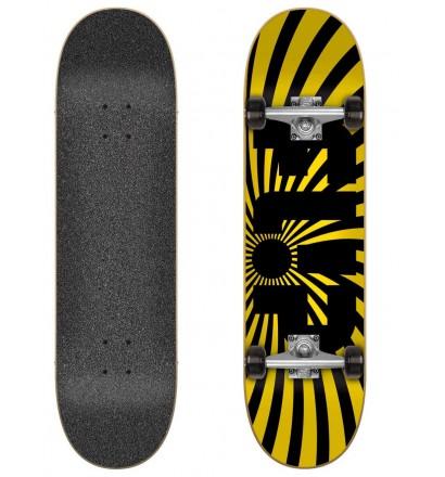 Skateboard Flip Spiral Yellow 8.0″ Complete
