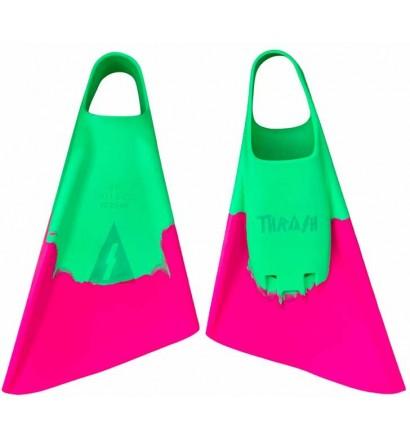 Bodyboard fins Thrash Green / Pink