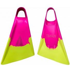 Bodyboard fins Thrash Yellow / Pink