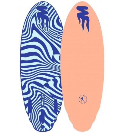 Surfbrett softboard Mullet Bitten Biscuit