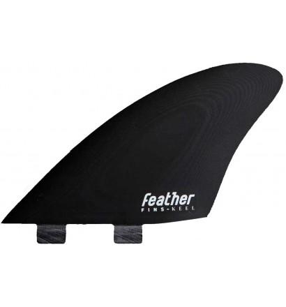 Ailerons de surf Feather Fins Twin